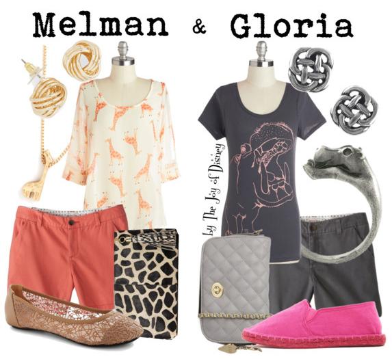 madagascar, madagascar clothes, melman and gloria, madagascar melman, madagascar gloria, fashion, fashion blog, comfy outfits