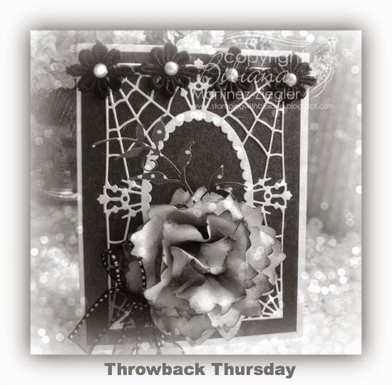 TBT gothic invitaion card