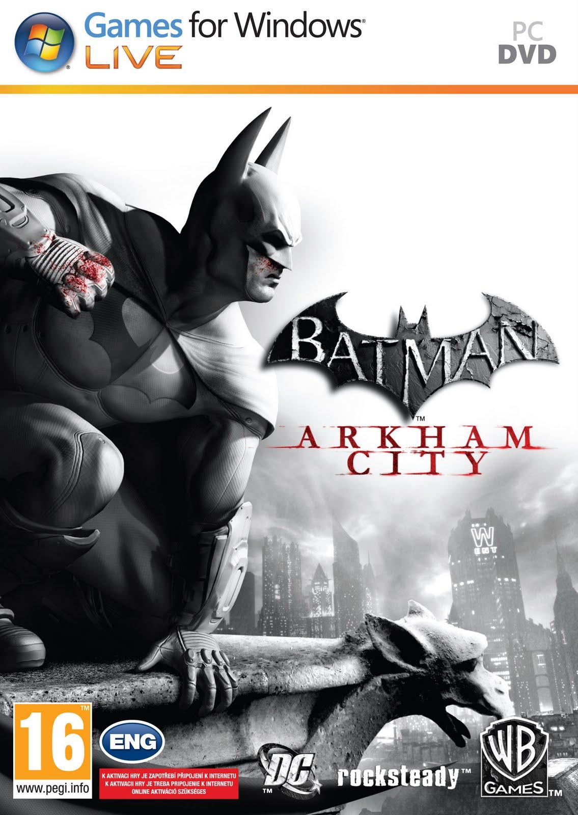 Batman Arkham City Crack No Serial