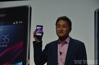 Sony introduces Xperia Z1: 20.7MB camera, G lens, BXL Bionz