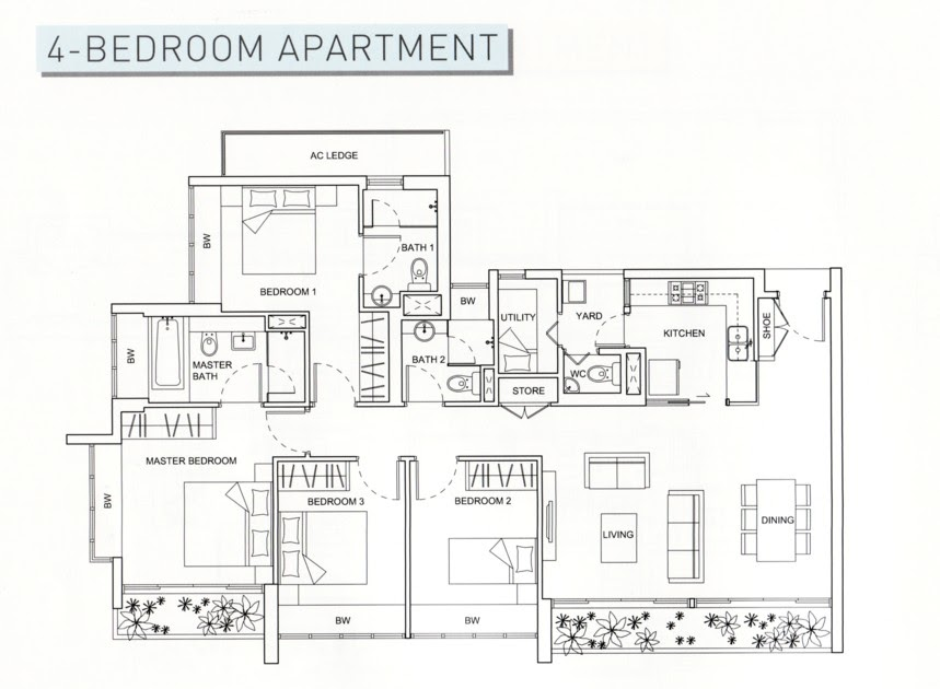 The Perfect Floor Plan Livia Condo The Perfect Hideaway