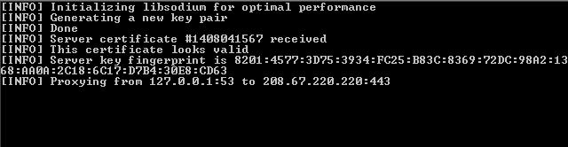 Cara Menggunakan DNSCrypt