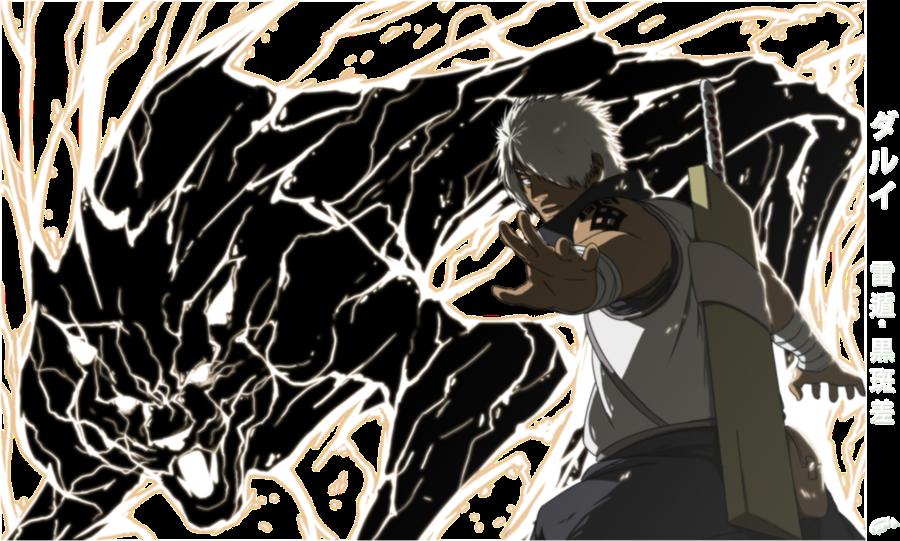 Chibi Black Panther Darui Black Lightning Panther