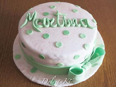 torta fiocco e pois