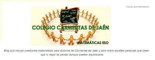 Matemáticas ESO Carmelitas Jaén