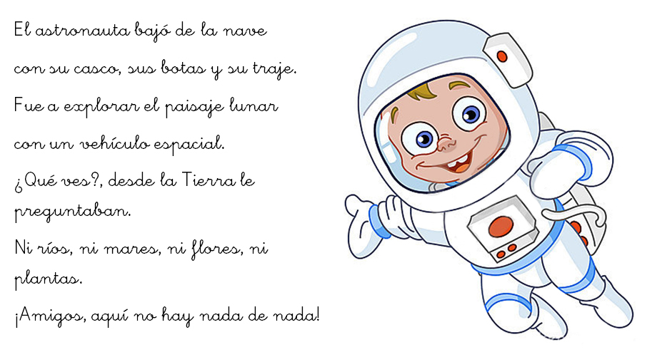 Increíble Astronauta Hoja Para Colorear Imagen - Páginas Para ...