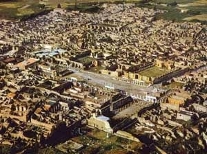 Kota Pompeii - kota hilang - lensaglobe