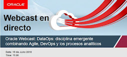 Oracle Webcast Semanal: 19 Julio