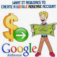 create a adsense account
