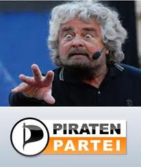 Grillo e Pirati analogie e differenze