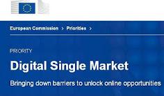 UE: Piața unică digitală