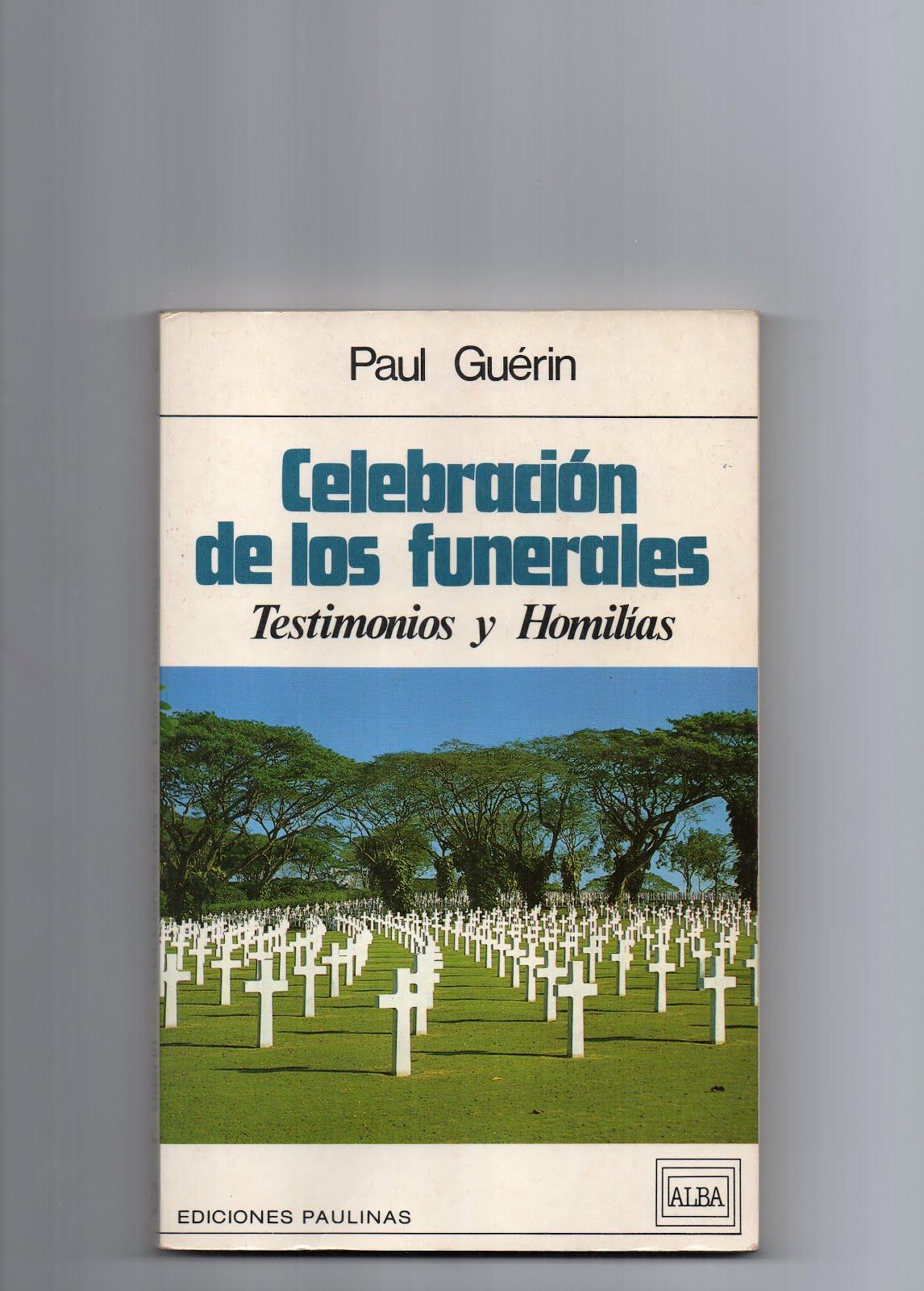 CELEBRACIÓN DE LOS FUNERALES
