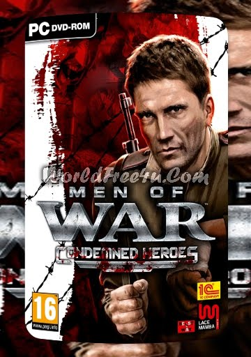 Cover Of Men of War Condemned Heroes Full Latest Version PC Game Free Download Mediafire Links At Downloadingzoo.Com