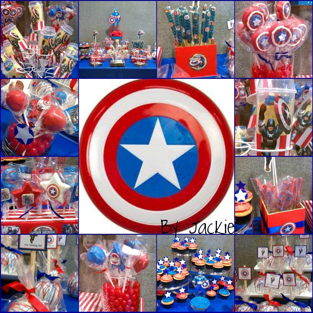 creations 4 you by jackie captain america theme. Black Bedroom Furniture Sets. Home Design Ideas