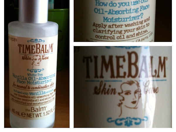 Time Balm: Vanilla Oil Absorbing face Moisturizer