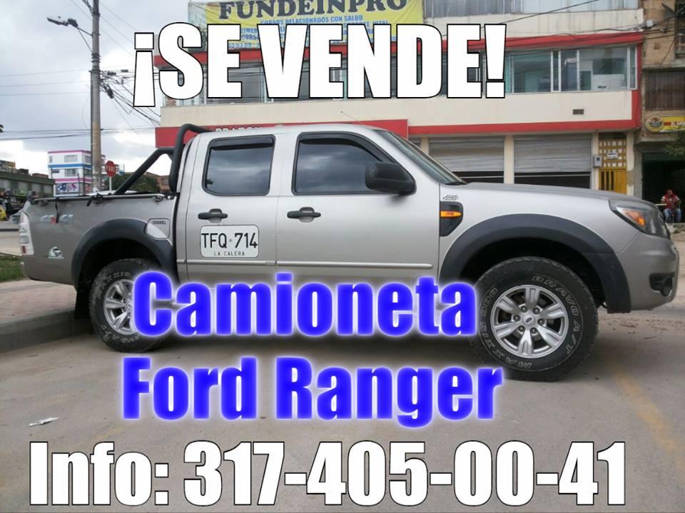 Se Vende Camioneta Ford Ranger 4*4