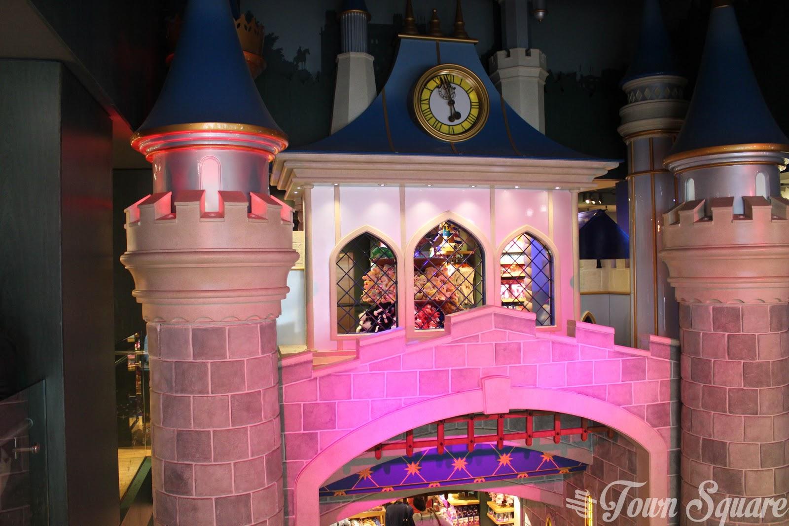 Cinderella Castle Staircase.