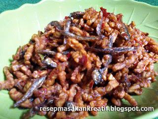 resep masakan kering tempe teri