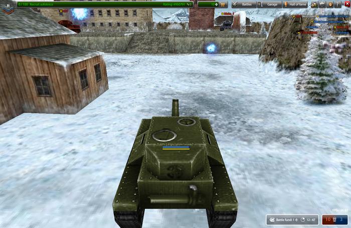 how to create battle in tanki