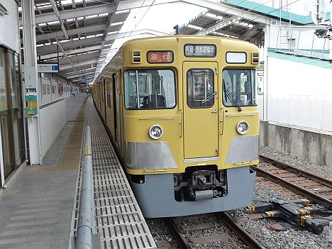 西武新宿線 急行 拝島・西武遊園地行き 2000系