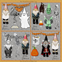 Halloween Gnome Gift Tags