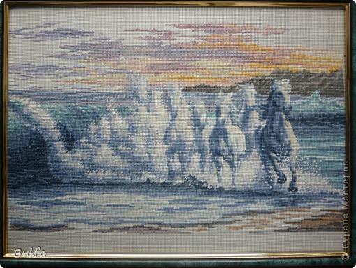 Поделка изделие Стихи Вышивка Вышивка крестом Литературное творчество Рождение лошади Канва Нитки фото 2.