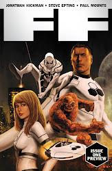 """Noticia rapida: Confira o preview da """"polêmica"""" FF #1, da Marvel!"""