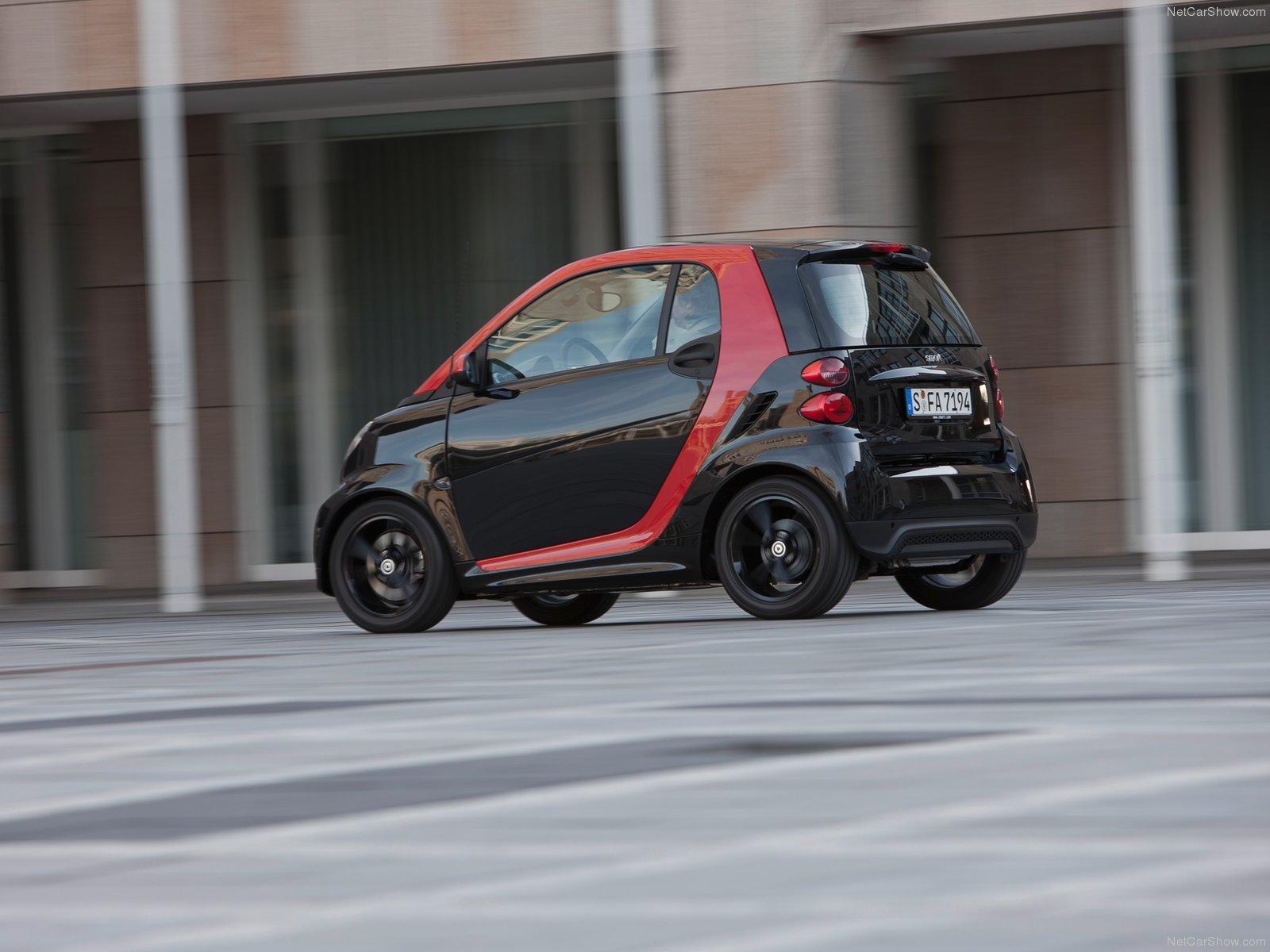 Hình ảnh xe ô tô Smart fortwo sharpred 2012 & nội ngoại thất