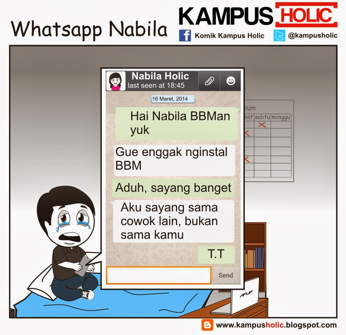 #455 Whatsapp Nabila