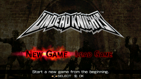 [PSP] Undead knights [INGLES] [ISO] [MEGA] 1