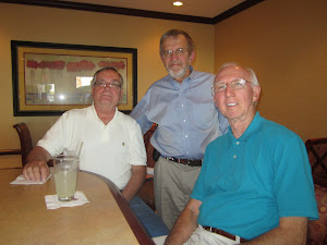 Jerry McFadden, George Brose with Bob Schul