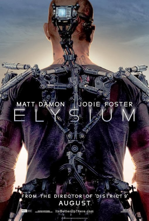 Elysium movie poster