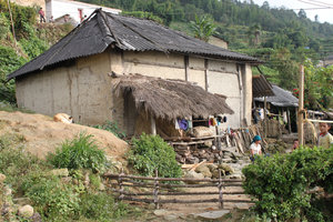 A house of the Hà Nhì ethnic people in Đào San