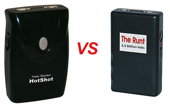 The Runt VS TheHotshot Stun Master