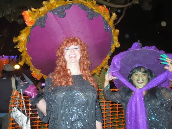 West Hollywood Halloween witches costumes