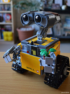 lego wall-e: ready to roll