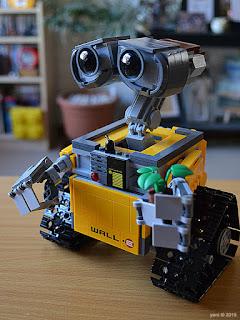 lego wall-e: ready to roll