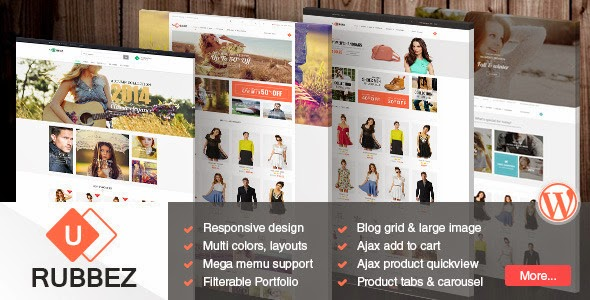 Responsive Multipurpose WordPress Theme 2015