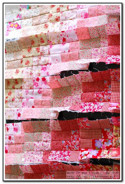 婚戒壁飾 - 25塊背景布的壯觀排列