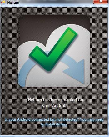 helium-enabled