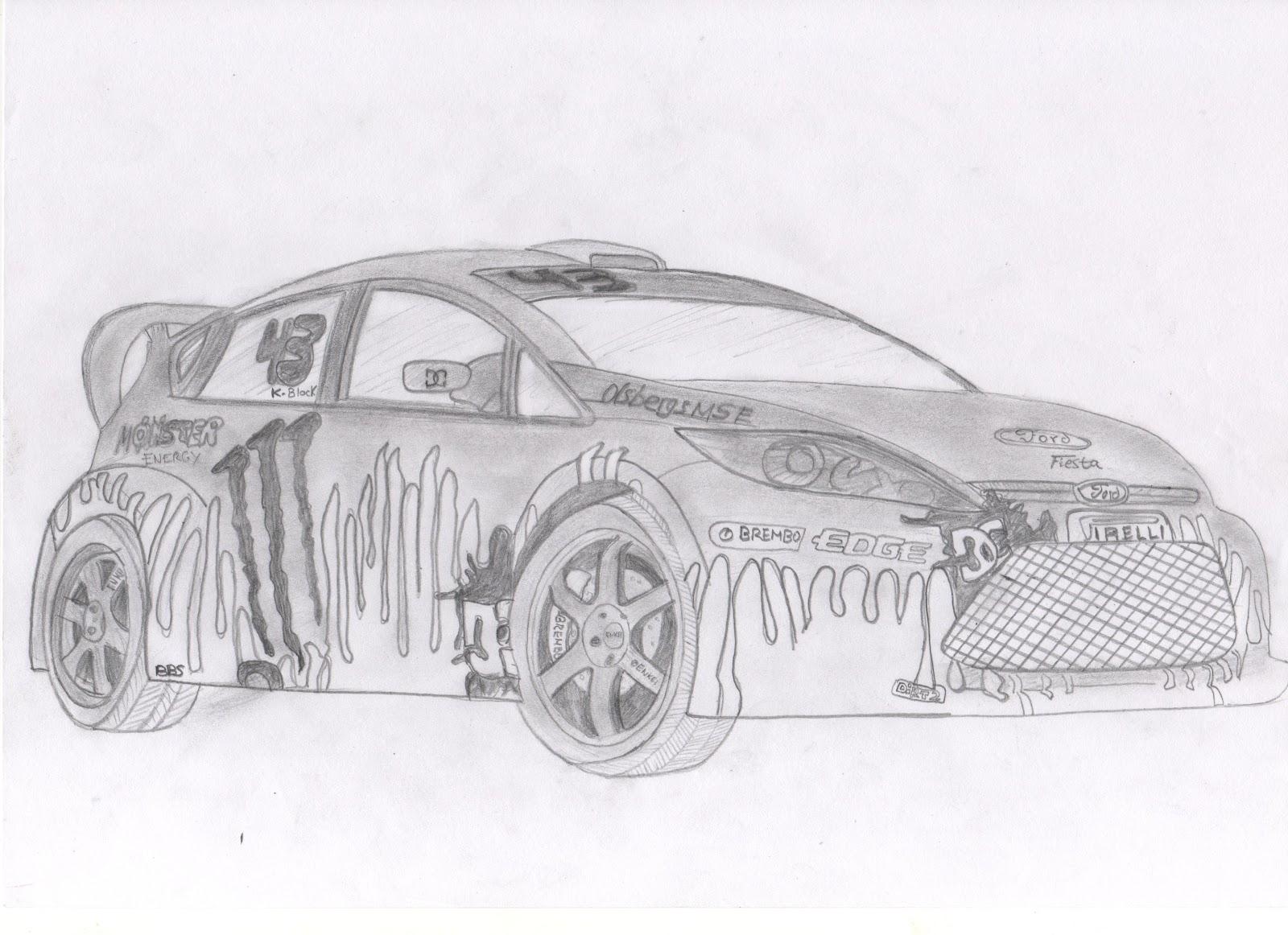 Dibujos de rally - Imagui