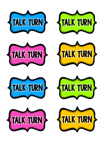 http://www.teacherspayteachers.com/Product/Talk-Turns-Taking-Turns-During-Literature-Discussion-FREEBIE-1351505