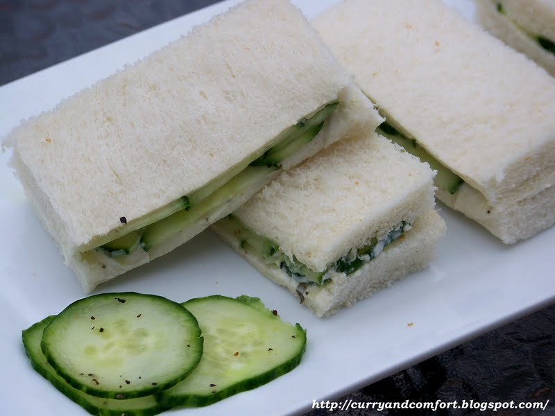 Kitchen Simmer: Tea Sandwich Series: Cucumber Sandwiches - Throwback ...