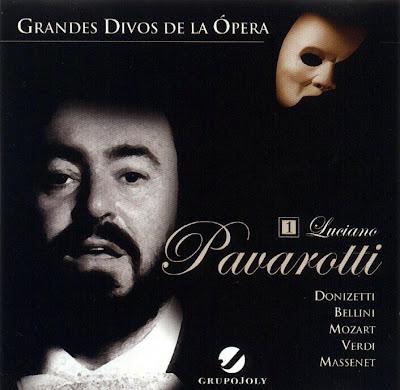 Grandes Divos de la Ópera-cd1-Luciano Pavarotti-carátula frontal
