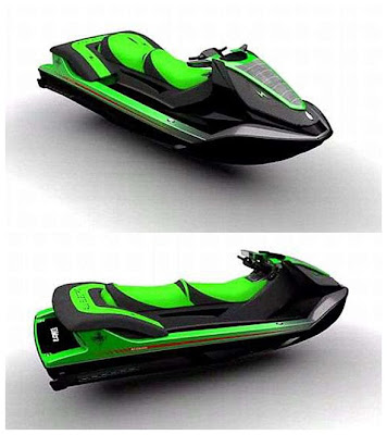 Stealth Electric Jet Ski