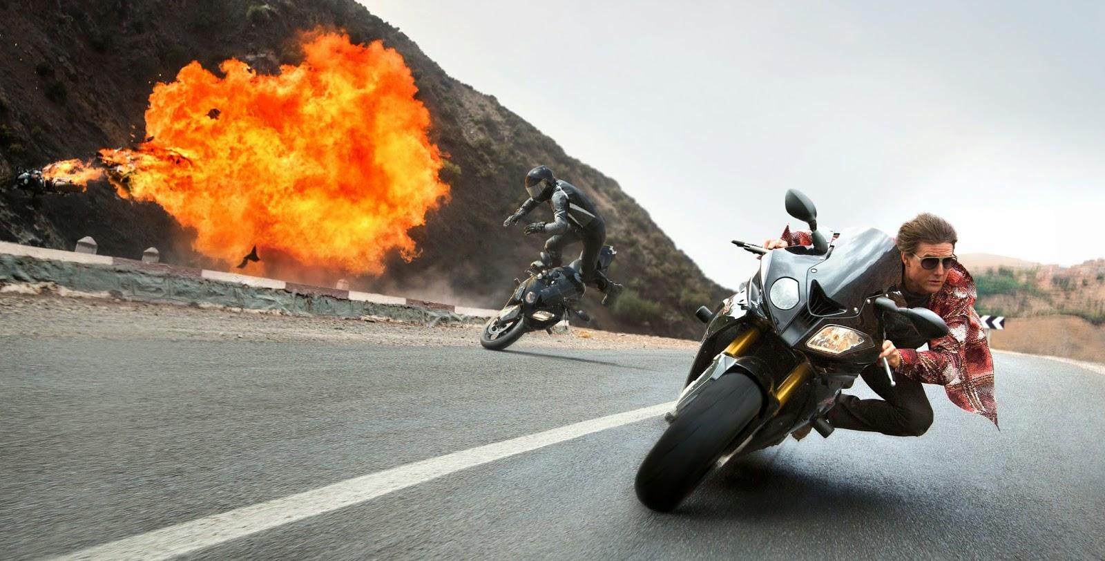 Veja o comercial estendido de Missão:Impossível - Nação Secreta, com Tom Cruise Simon Pegg