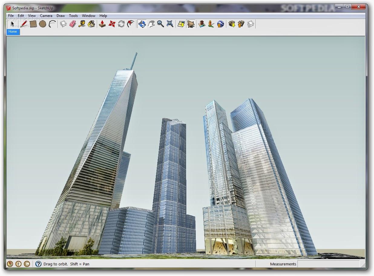 برنامج Google SketchUp برنامج التصميم