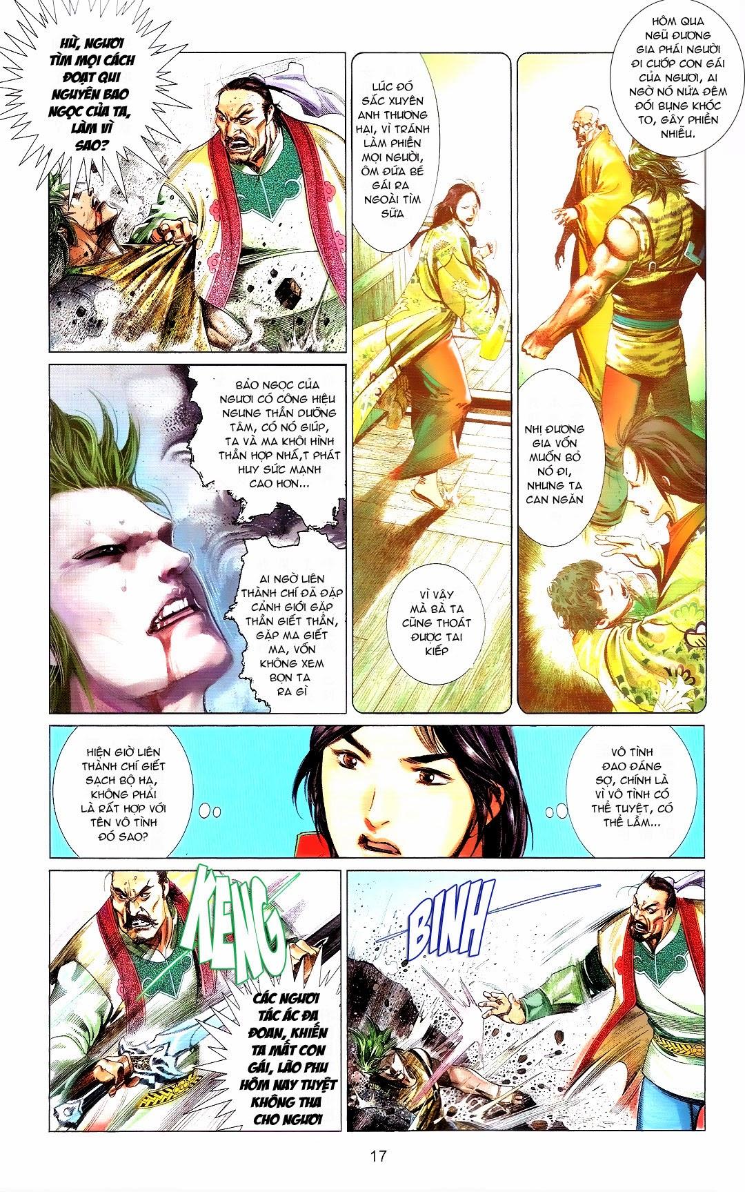 Phong Vân chap 666 Trang 17 - Mangak.info