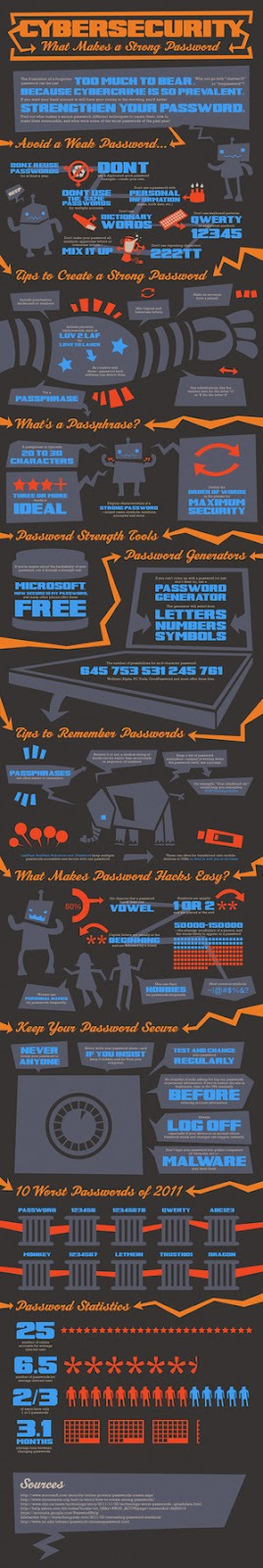 Cyber Security Infographics - Click to Enlarge