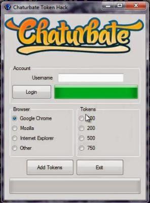 chaturbate token generator 2019